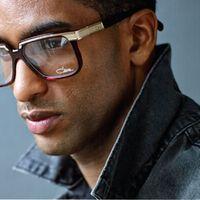 Original German Brand Designer Authentic Cazal 650 Clear Lenses oculos de grau masculino Retro Vintage Eyeglasses Frame