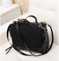 2014 PU leather patchwork women Motorcycle bag new fashion vintage shoulder messenger bag brand designer belt for women handbag