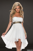 Wholesale Free Shipping Women Sexy  Party Dress Clubwear  sequins color block   N158