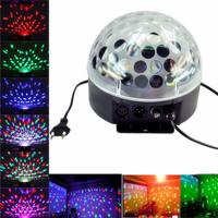DMX512 6 LED Disco DJ Stage Lighting LED RGB Crystal Magic Ball Effect Light DMX light KTV Party