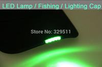 Wholesale Novelty Sprot Hat LED Lights Baseball Hat Night Jogging Fashion Cap Baseball Lamp Cap Hunting Fishing Cap 50 pcs/lot