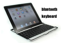 for iPad5 Bluetooth  Keyboard,Aluminum Case wireless keyboard for ipad air,3.0,1pcs free ship by air mail post,