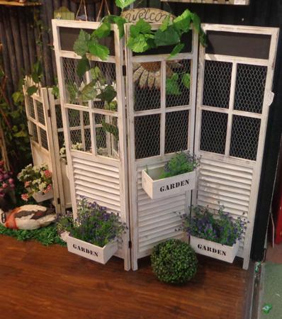 Compra jard n biombo online al por mayor de china for Biombos para jardin