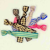 Free Shipping Gold&Silver Foil FOE Hair Tie Metallic Elastic Hair Band Hot Sell Girls Ponytail Holder Hair Accessories