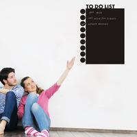 New office blackboard sticker To do list removable waterproof wall stickers Chalkboard Decal Chalk Board Deco