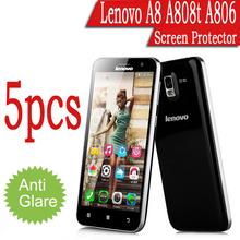 5pcs/lot Anti Glare Ultra Thin Matte Screen Protectors Covers Film Guard Lenovo A806 A8 MTK6592 octa core 5.0″inch Free Shipping