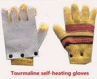 Tourmaline self-heating gloves fingers Rheumatism glove Drop Shipping