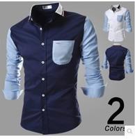2014 Designer Brand Fashion Men's French Cuff Free Cufflinks Casual Dress Long Sleeve Shirts Mens Dress Shirts,men long shirt,99