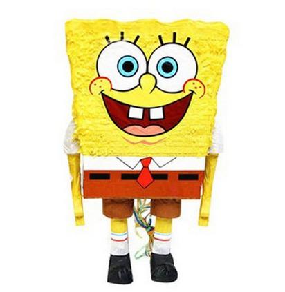 Party Supplies / child adult birthday party / SpongeBob SquarePants Pinata(China (Mainland))