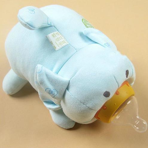 Cute Feeding Bottle Thermal Bag Cartoon Pig Style Broad Caliber Heat Preservation Cloth Bags Nursing Bottle Bag 044(China (Mainland))