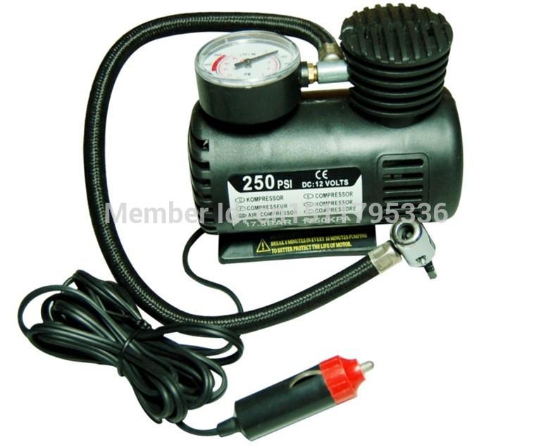Компрессор для шин 250 PSI 12V DC , компрессор для шин 3 12v 250 psi