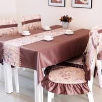 New Arrival Plain Color Silky Grand Banquet Tablecloth Wedding Tablecloth Toalha De Mesa