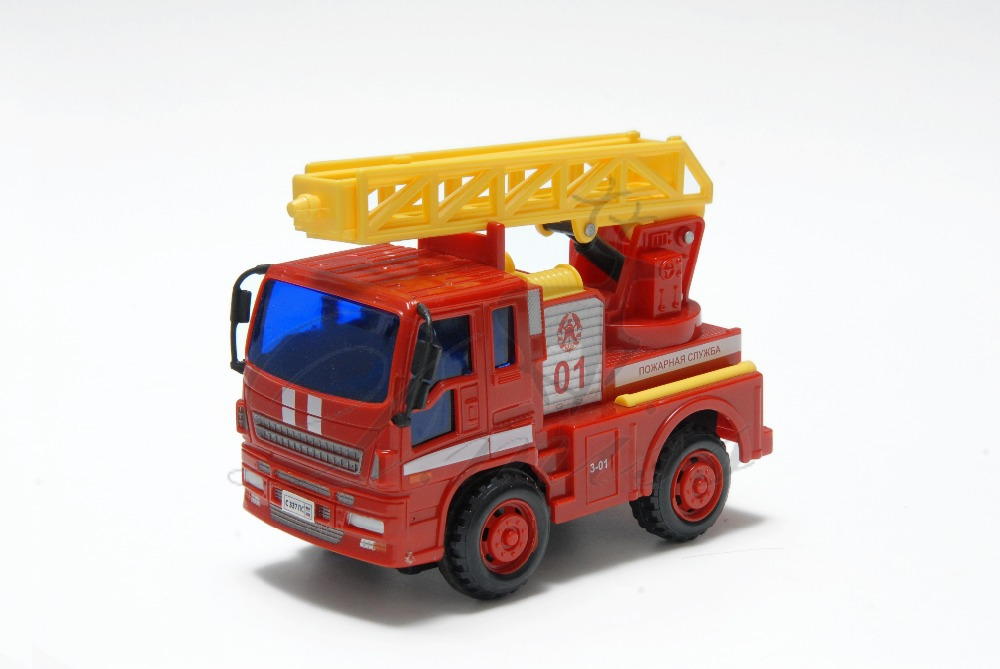 D.miss Erika Hot Sale !Children's toys car Mainest Fire Fighting Truck toy car baby educational scale models DS6109S-R(China (Mainland))