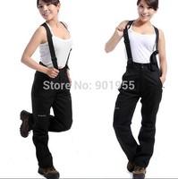 Free shipping hot new autumn and winter 2014 fashion brand women sports pants hiking pants waterproof breathable ski pants