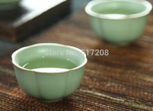 7pcs lot Porcelain tea set pumpkin tea pot cup beautiful tea set made in China ceramic