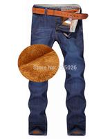 2014 Fashion Designer Brand Men Jeans Denim Pants Trousers,Autumn And Winter Warm Pants Blue Men's Jeans Casual Style Sports