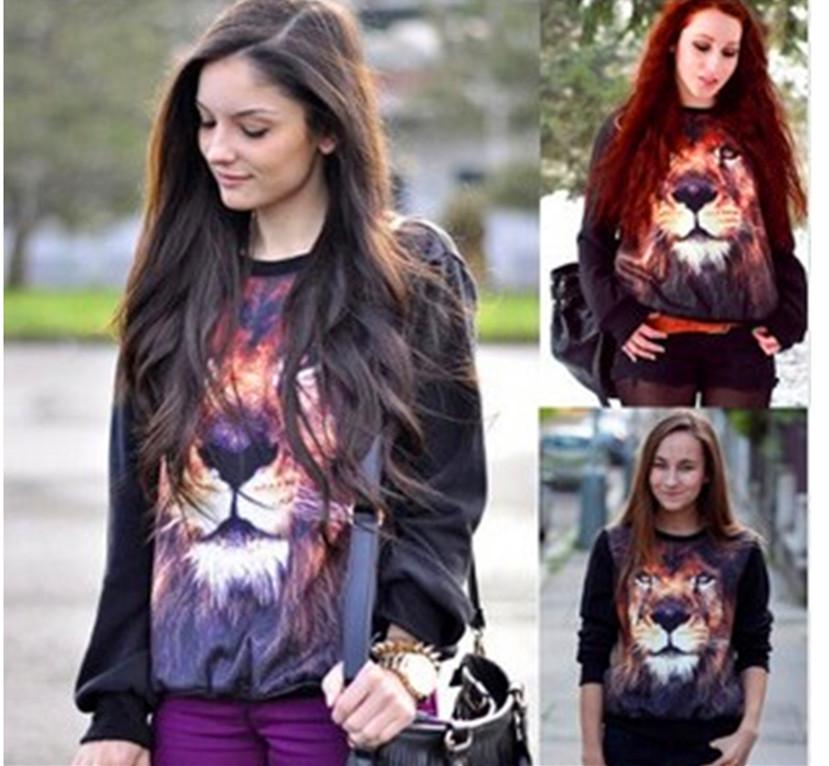 Женский пуловер 3D C0180