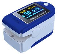 CMS-50D Fingertip Pulse Oxygen SPO2 Monitor OLED Pulse Oximeter CE & FDA approved brand new free shipping