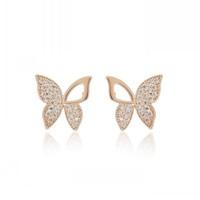 YaHan Jewelry Free shipping Hot sell fashion stud earrings butterfly earring for women