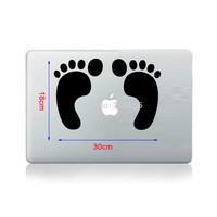 Free shipping  The Cute footprints notebook sticker  children housing and glass sticker and car sticker