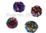 MYLAR BALLS-Crinkle Crackle,Crackle Shiny Lightweight Smackable Cat Toys