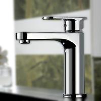 Bathroom Sink Hot Cold Mixer Deck Mounted Single Hole Water Tap Contemporary Basin Faucet torneira para banheiro misturadora