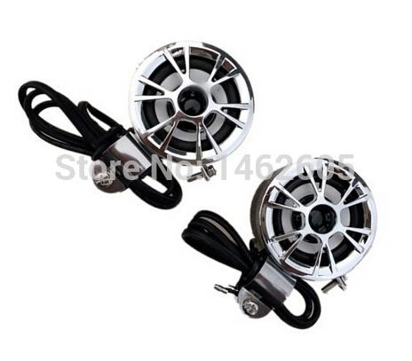 Universal Motorcycle Audio Motorcycle Speaker Stereo Amplified Waterproof 12V 15-30W(China (Mainland))