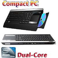 KD525 Host Keyboard , Intel ATOM Dual Core D525-1.8G , 2GB memory, 320GB HDD, WiFi