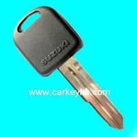 Hot sale with Best quality Suzuki transponder key shell with left blade for suzuki liana