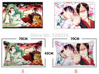 New 45cm x 70cm Hoozuki no Reitetsu Japanese anime wearable fine canvas trim pillow pillow  (single with PP cotton stuffing)