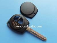 Hot sale with Best quality Suzuki SWIFT remote key shell no logo for suzuki transponder key