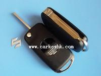 Hot sale with Best quality Old Suzuki Swift 2 buttons flip key case for suzuki grand vitara