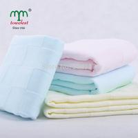 New 2014 MAOMAOYU Brand  Towel 12PC/Lot 34*75cm 100% Cotton Gauze Hand  Towel Face Cleansing Cloths Towels Bathroom 010501