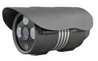 "High Quality 1000TVL  1/4"" CMOS  3 Array IR LED Outdoor CCTV Security Camera+Free Shipping"
