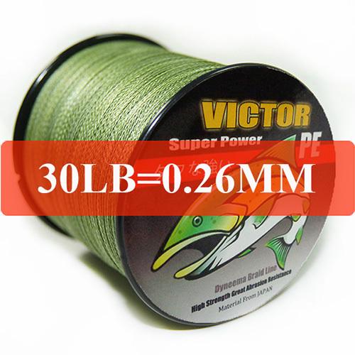 Рыболовная леска VICTOR 100 30 PE L-100-L