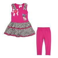 spring 2014 new NOVA kids girls wear clothing set printed peppa pig spring autumn summer girls sets HG4836