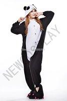 New Panda Pajamas Animal Onesies Pyjamas Adult Cosplay Costumes Cartoon Party Dress
