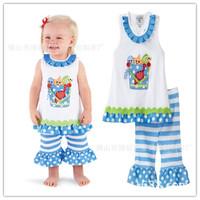 2013 New Brand Children Clothing Suit Vest Plaid Shirt Pants Girls Set Free Shipping  K6357