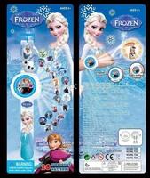 Lot 12Pcs Frozen Cartoon Projection watch Children Gifts-20 Different Patterns