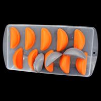 5pcs/lot orange ice lattice mold chocolate molds double color mould ice ice box