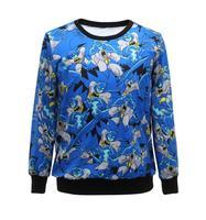 2014 New Fashion women/men tree virgin print galaxy Hoodies sky space 3d T-Shirts  top high quality