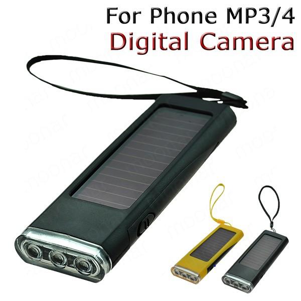 Solar Charger Flashlight Radio Backup Battery power Lighting Play Charger for phone/MP3/MP4 DA0103(China (Mainland))