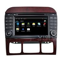 Android 4.0 Stereo for Mercedes Benz S-Class W220 GPS Navigation Nav Auto Radio Satnav DVD Player Multimedia Headunit Autoradio