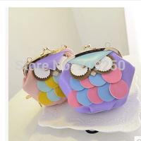 2014 new fashion chain owl Cute Mini Crossbody Bag, free shipping