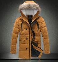New 2014 Men'S Natural Collar 90% Duck Down Jackets Men'S Fashion Winter Jacket Coat Manufacturers Wholesale XG20-200