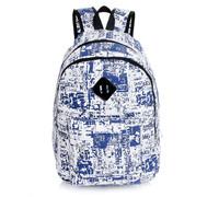 Hot! 2014 New Fashion Women and Men Backpack Canvas Printed Graffiti  bags big capactiy outdoor bags sports bags
