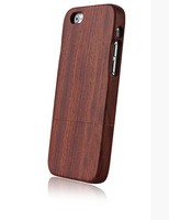 custom wood case with no carving,hard case for iphone 6