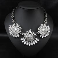 Wholesale Brand Luxury Fashion Jewelry Perfume Women Accessories Vintage Colar Design Pendant statement necklace