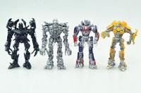 Whole or Single Transforms Leader Megatron/Optimus/Ironhide/Bumblebee Mini Robot doll Transformation Action Figure Model Toys