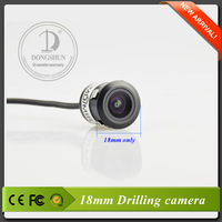 18mm Freeshipping waterprrof drilling car camera with referencr line.